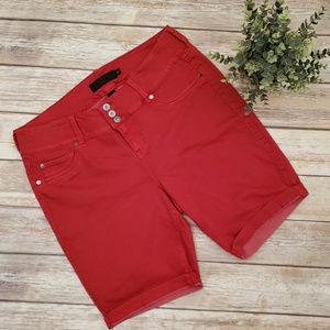 Torrid Red Bermuda Stretch Short s Size 18 Jean